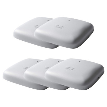 Cisco CBW240AC 802.11ac 4x4 Wave 2 Ceiling Mount Access Point - 5 Pack Main Product Image