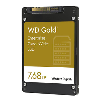 Western Digital WD WDS768T1D0D 7.68TB Gold 2.5in NVMe Enterprise SSD Product Image 2