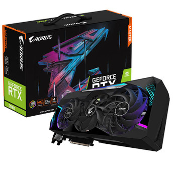 Gigabyte AORUS GeForce RTX 3080 MASTER 10GB V2 Video Card Main Product Image