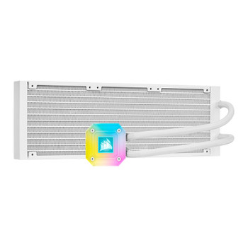 Corsair iCUE H150i ELITE CAPELLIX Liquid CPU Cooler — White Product Image 2