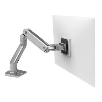 Ergotron HX Heavy Duty Desk Monitor Arm - Polished Aluminum Main Product Image