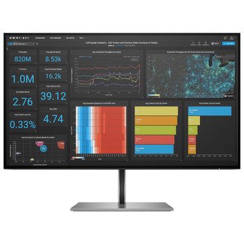 HP Z27Q G3 27in 5ms QHD IPS Monitor Main Product Image