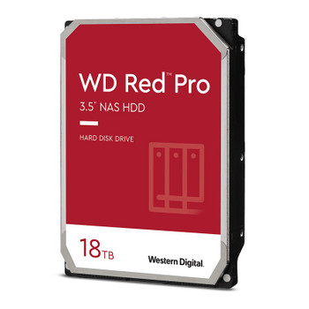 Western Digital WD WD181KFGX 18TB Red PRO 3.5in 7200RPM SATA3 NAS Hard Drive Main Product Image