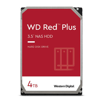 Western Digital WD WD40EFZX 4TB Red Plus 3.5in IntelliPower 5400RPM SATA NAS Hard Drive Main Product Image