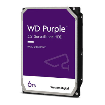 Western Digital WD WD62PURZ 6TB Purple 3.5in SATA3 Surveillance Hard Drive Main Product Image