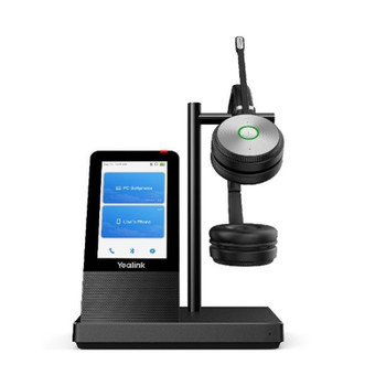 Yealink WH66-D-UC UC DECT Stereo Wireless Headset Solution Main Product Image