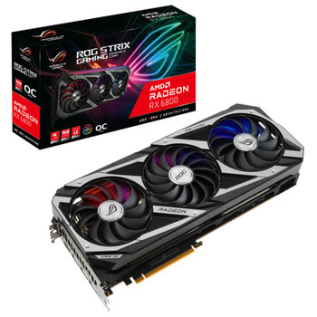 Asus Radeon RX 6800 ROG Strix OC Gaming 16GB Video Card Main Product Image