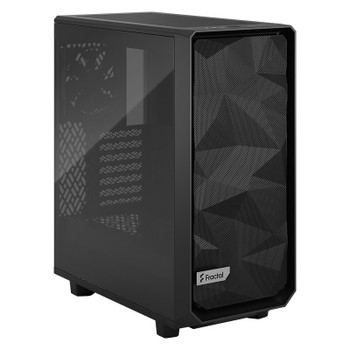 Fractal Design Meshify 2 Compact TG Mid-Tower ATX Case - Black - Light Tint Main Product Image
