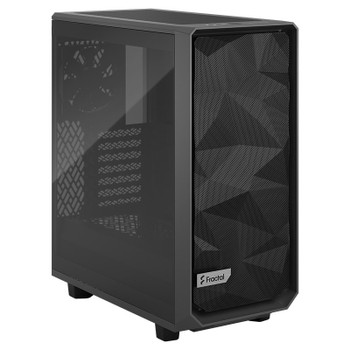 Fractal Design Meshify 2 Compact TG Mid-Tower ATX Case - Grey - Light Tint Main Product Image