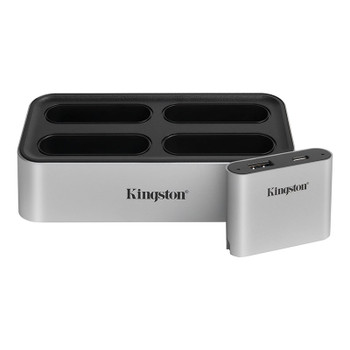 Kingston WFS-U Workflow Station Dock Memory Card Reader with USB miniHub Main Product Image