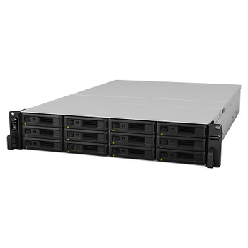 Synology RackStation RS3621RPXS 12-Bay 2U Diskless Scalable NAS Xeon CPU 8GB RAM Product Image 2