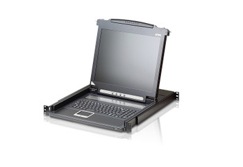 Aten 17in LED-backlit LCD Console - can be mounted in rack with a depth of 42 -72 cm Main Product Image