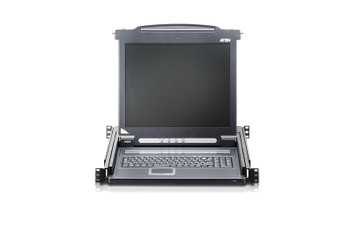 Aten 17in LED-backlit LCD Console - can be mounted in rack with a depth of 42 -72 cm Product Image 2