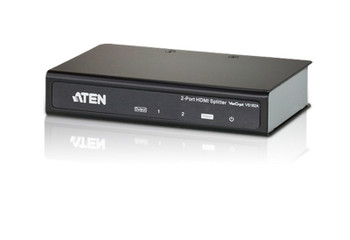 Aten 2 Port 4K HDMI Splitter - supports up to 4096 x 2160 / 3840 x 2160 @ 60Hz (4:2:0) and 4096 x 2160 / 3840 x 2160 @ 30Hz (4:4:4) Main Product Image