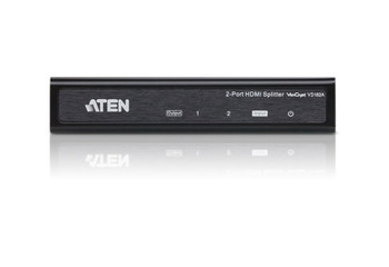 Aten 2 Port 4K HDMI Splitter - supports up to 4096 x 2160 / 3840 x 2160 @ 60Hz (4:2:0) and 4096 x 2160 / 3840 x 2160 @ 30Hz (4:4:4) Product Image 2