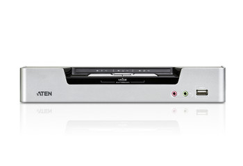 Aten 2 Port USB 2.0 DVI Dual View KVMP Switch - supports up to 2560 x 1600 @ 60 Hz with Dual Link DVI Product Image 2