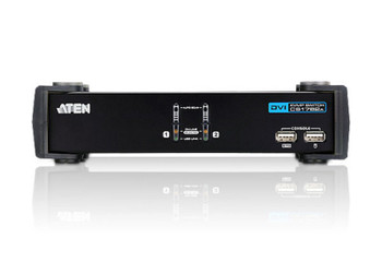 Aten 2 Port USB 2.0 DVI KVMP Switch - supports up to 1920 x 1200 @ 60 Hz - Video DynaSync Product Image 2