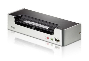 Aten 2 Port USB 2.0 HDMI KVMP Switch - supports up to 1920 x 1200 @ 60 Hz Main Product Image