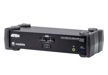 Aten 2 Port USB 3.0 4K HDMI KVMP Switch Main Product Image