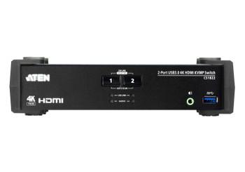 Aten 2 Port USB 3.0 4K HDMI KVMP Switch Product Image 2