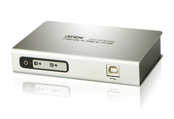 Aten 2 Port USB to RS232 Converter with 1.8m cable Main Product Image