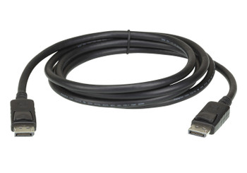Aten 2m DisplayPort Cable - supports up to 3840 x 2160 @ 60Hz Main Product Image