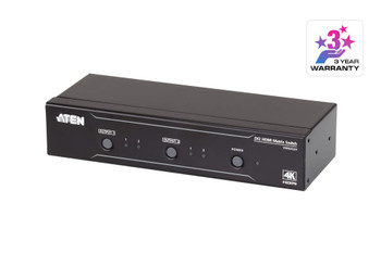 Aten 2x2 4K HDMI Matrix - control via front-panel pushbuttons - IR remote and RS232 control - EDID management Main Product Image