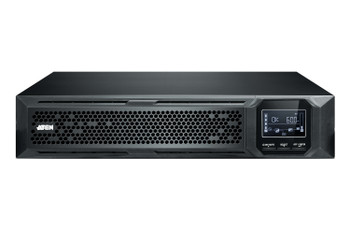 Aten 3000VA/3000W Professional Online UPS  with USB/DB9 connection - 8 IEC C13 outlets and 1 IEC C19 outlet Product Image 2
