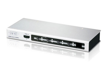 Aten 4 Port HDMI Switch - compliant with HDCP 1.1 -select input port via RS232 control Main Product Image