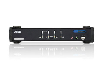 Aten 4 Port USB 2.0 DVI Dual Link KVMP Switch - supports up to 2560 x 1600 @ 60 Hz with Dual Link DVI Product Image 2
