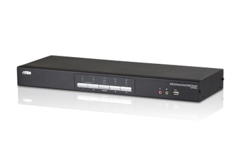 Aten 4 Port USB 2.0 DVI Dual View KVMP Switch - supports up to 2560 x 1600 @ 60 Hz with Dual Link DVI Main Product Image