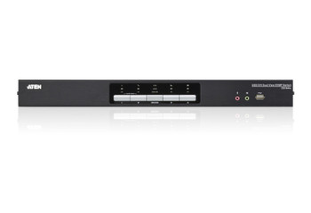 Aten 4 Port USB 2.0 DVI Dual View KVMP Switch - supports up to 2560 x 1600 @ 60 Hz with Dual Link DVI Product Image 2