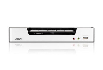 Aten 4 Port USB 2.0 HDMI KVMP Switch - supports up to 1920 x 1200 @ 60 Hz - Video DynaSync Product Image 2