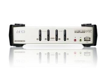 Aten 4 Port USB 2.0 VGA KVMP Switch with OSD and audio - - Video DynaSync Product Image 2