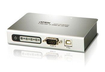 Aten 4 Port USB to RS232 Converter with 1.8m cable Main Product Image