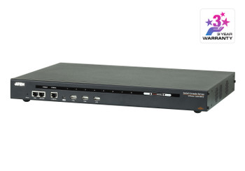 Aten 8 Port Serial Console Server over IP with dual AC Power - directly connect to Cisco switches without rollover cables - dual LAN Support Main Product Image