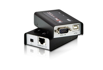 Aten Mini USB VGA Cat 5 KVM Extender - extends up to 1280 x 1024 @ 100m and 1920 x 1200 @ 60 Hz @ 30m Main Product Image