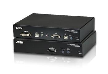 Aten USB DVI Optical KVM Extender - extends 1920 x 1200 @ 600m Main Product Image