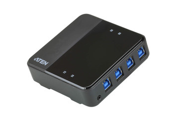 Aten USB-C enabled USB 3.1 Gen 1 Peripheral Sharing Switch - 4 computers Main Product Image