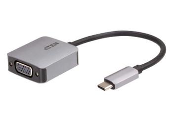 Aten USB-C to VGA Adapter - aluminium housing Main Product Image