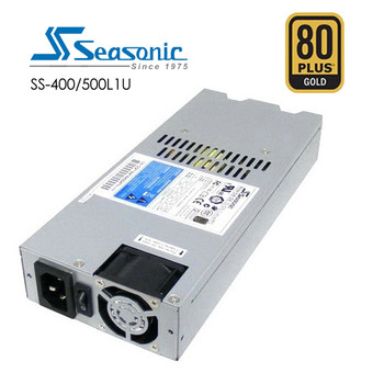 Seasonic 400W Active PFC F3 1U PSU (SS-400L1U) Main Product Image