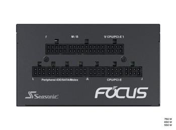 Seasonic 650W Focus GX-650 Gold PSU (SSR-650FX) (OneSeasonic) Product Image 2