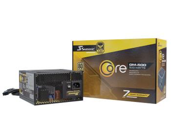 Seasonic CORE SERIES 80 Plus Gold 500W GM-500 PSU (OneSeasonic) Main Product Image