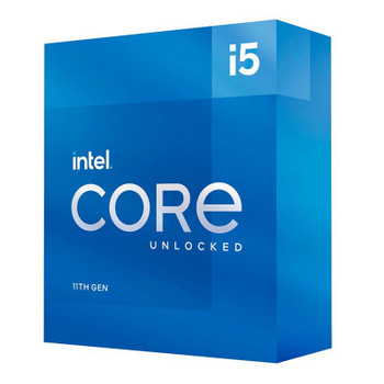 Intel Core i5 11600K 6-Core LGA 1200 3.9GHz Unlocked CPU Main Product Image