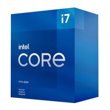 Intel Core i7 11700F 8-Core LGA 1200 2.5GHz CPU Processor Main Product Image