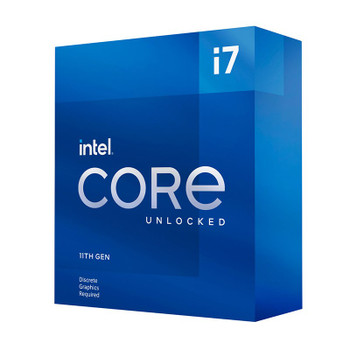Intel Core i7 11700KF 8-Core LGA 1200 3.6GHz Unlocked CPU Processor Main Product Image