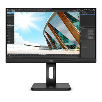 AOC 24P2Q 23.8in 75Hz FHD Flicker-Free IPS Monitor Main Product Image