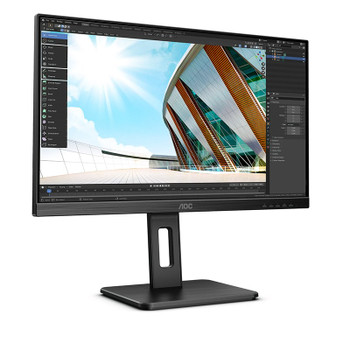 AOC 24P2Q 23.8in 75Hz FHD Flicker-Free IPS Monitor Product Image 2