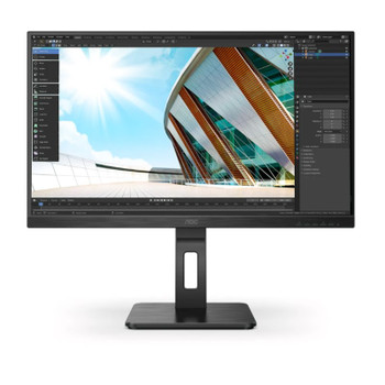 AOC 27P2Q 27in 75Hz FHD Flicker-Free IPS Monitor Main Product Image