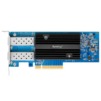 Synology E25G21-F2 Dual Port 25 Gigabit SFP28 PCIe Ethernet Adapter Card Product Image 2